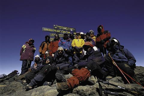 Kibo Hut - Uhuru Peak - Horombo camp